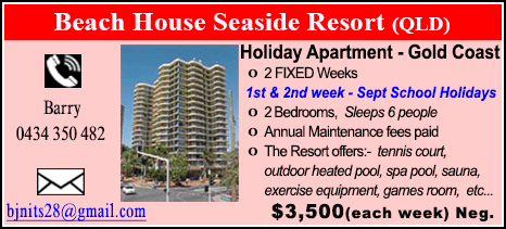 Beach House Seaside Resort - $3500
