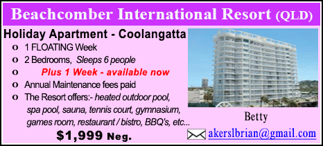 Beachcomber International Resort - $1999