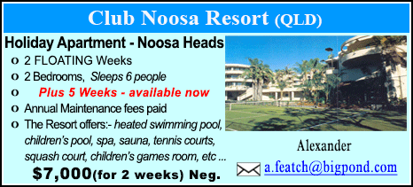 Club Noosa Resort - $7000