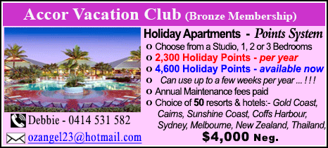 Accor Vacation Club - $4000