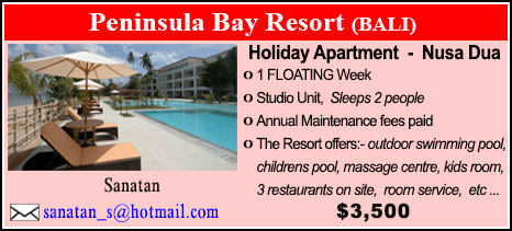 Peninsula Bay Resort - $3500