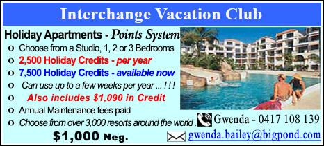Interchange Vacation Club - $1000
