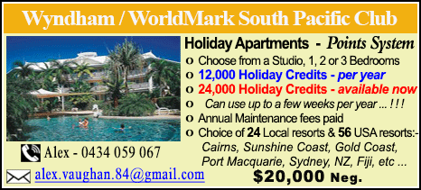Wyndham Vacation Resorts - $20000