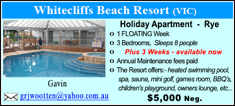 Whitecliffs Beach Resort - $5000