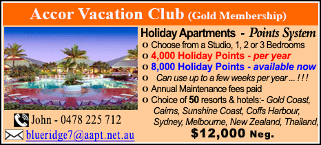 Accor Vacation Club - $12000