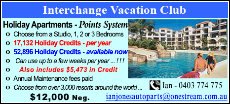 Interchange Vacation Club - $12000