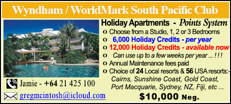 Wyndham Vacation Resorts - $10000