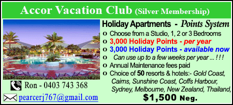 Accor Vacation Club - $1500