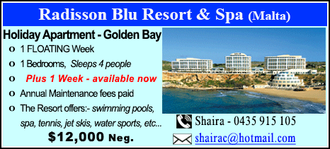 Radisson Blu Resort - $12000