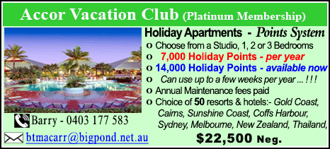 Accor Vacation Club - $22500